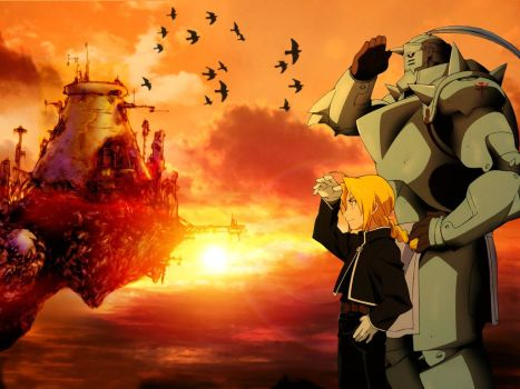 Fullmetal Alchemist Ed e Al Elric