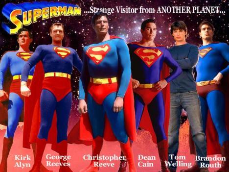 Todos que já foram Superman