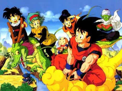 Dragon ball goku e guerreiros z