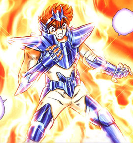 Tenma de Pegasus saint seiya next dimension