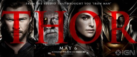 Thor poster Cast