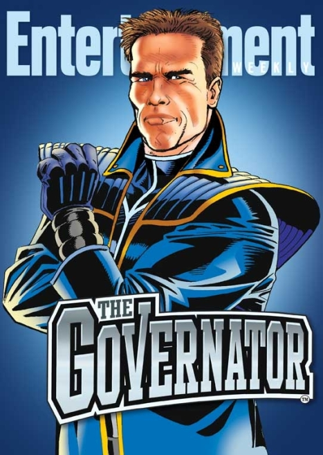 The Governator Arnold Schwarzeneger