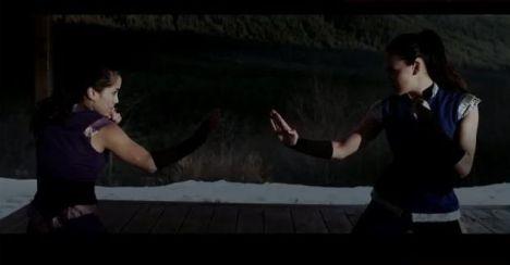 Kitana e Mileena Mortal Kombat Legacy