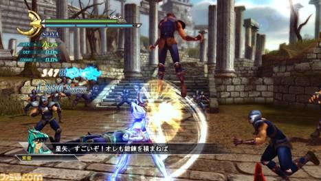 Saint Seiya Senki gameplay seiya