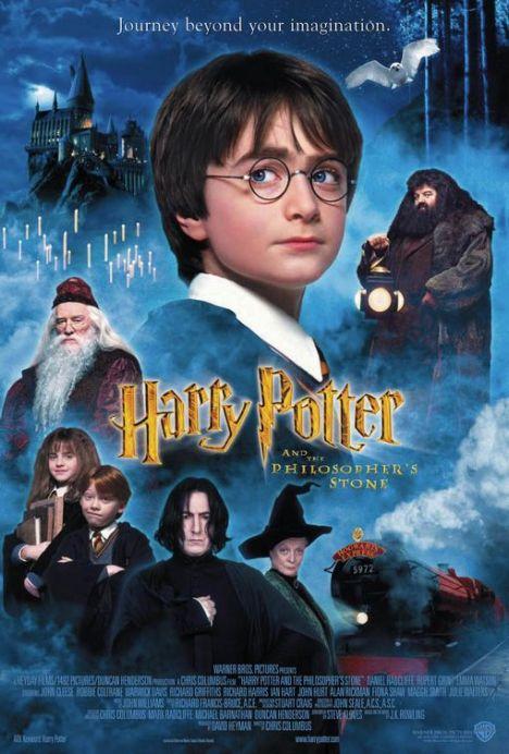 Harry Potter e a pedra filosofal filme 1 poster