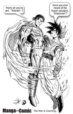 Clark Kent vs Son Goku