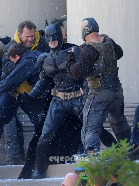 Batman contra Bane dark knight rises