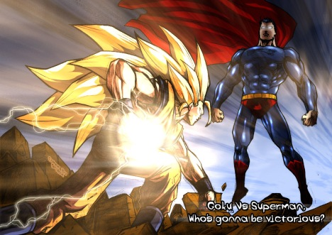 Goku versus Superman: O encontro de dois mundos