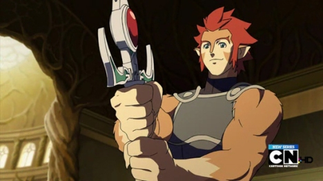 Thundercats 2011  Sword Omens on The Sword Of Omens