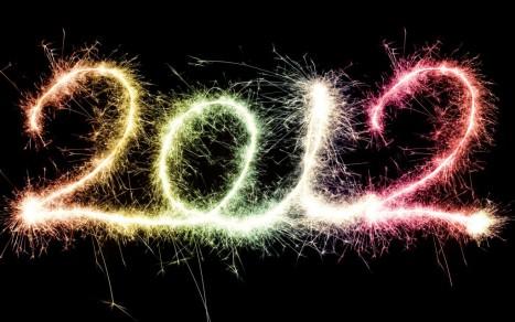 Feliz Ano novo 2012 fogos