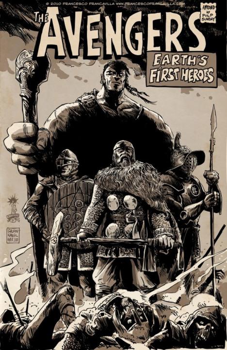 Os vingadores Idade média