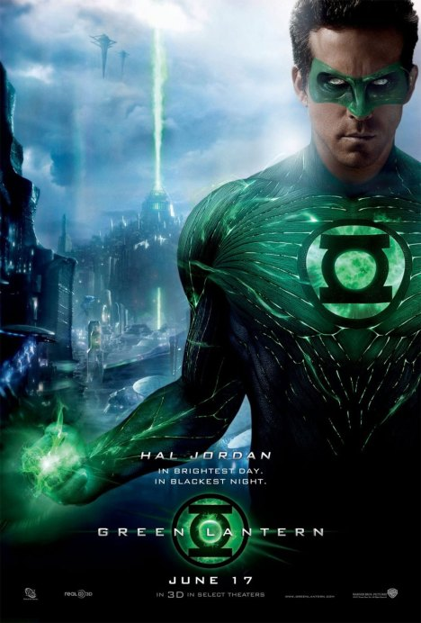 Green Lantern Poster lanterna verde