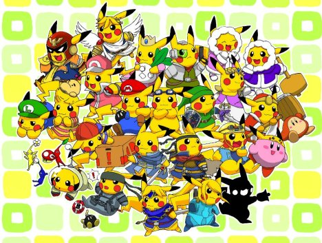 Pikachu dominando o mundo