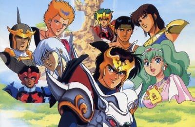 Shurato poster personagens