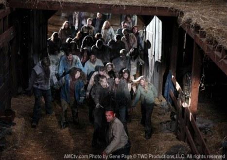 the walking dead temporada 2 zumbis finale