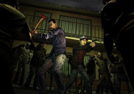 The Walking Dead the game glenn
