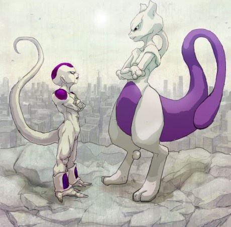 Freeza versus Mewtwo iguais