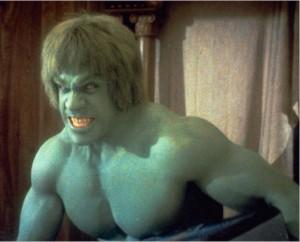 Hulk antigo anos 80