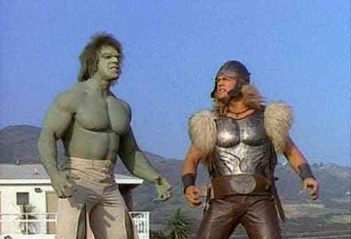 Hulk e Thor antigo