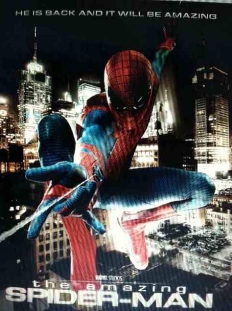 espetacular Homem aranha poster