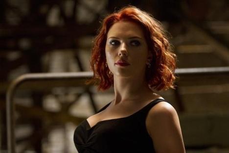 Os Vingadores Viuva Negra Scarlett Johanson