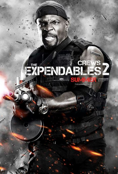 The Expendables 2 poster terry crews