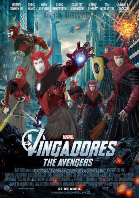 Os Vingadores caverna do dragão
