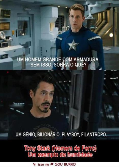 Tony Stark genio playboy bilionario filantropo