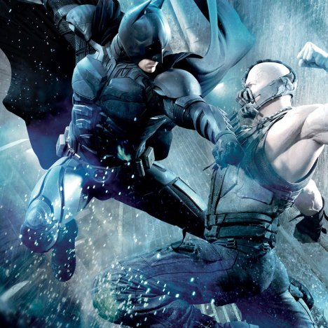 The Dark Knight poster Batman vs Bane
