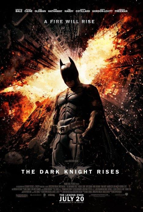 Batman The Dark Knight Rises poster