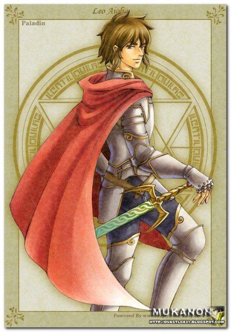 Aiolia de leão cavaleiro de ouro