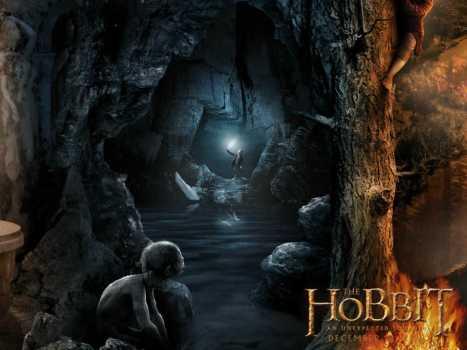 Gollun hobbit bilbo