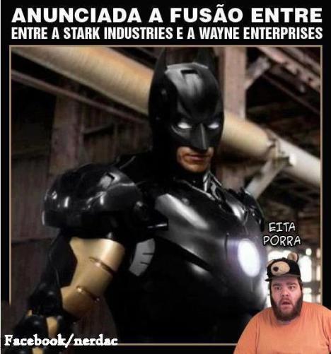 Batman fusão homem de ferro