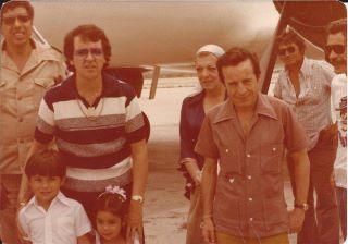 chegada de avião Chaves