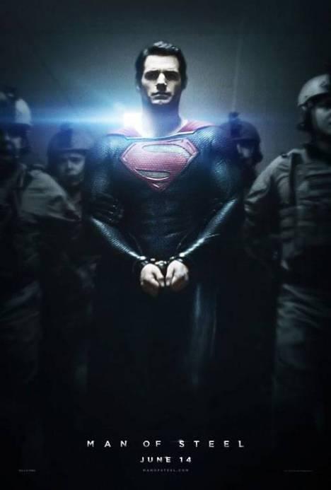 Superman man of steel poster