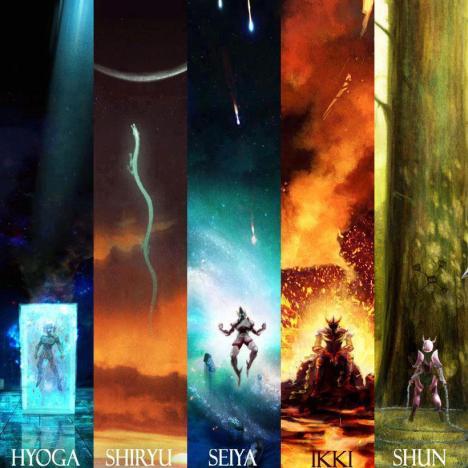 cavaleiros do zodiaco epico