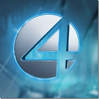 quatro estilizado quarteto fantástico