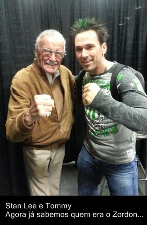 Stan Lee e Tommy ranger