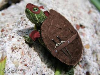 rafael realista tartarugas ninja