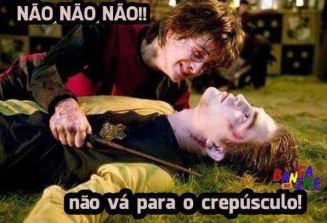 harry potter crepusculo