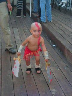 baby kratos